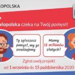 Zgłoś zadanie do BO Małopolska i zmień swoją okolicę!